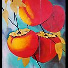 Persimmons at Dawn by Lydia Quinones