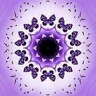All things with wings (purple) by KalKaleidoscope
