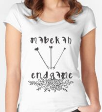 Mabekah Endgame - The Vampire Diaries - The Originals Women's Fitted Scoop T-Shirt