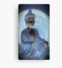 Dharma Silver Canvas Print