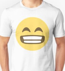 Beaming face with smiling eyes Unisex T-Shirt