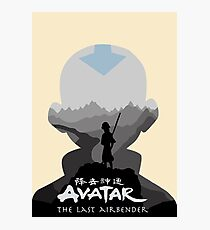 Avatar The Last Airbender- Aang Photographic Print
