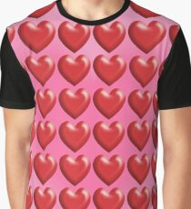 HEARTS SMALLER Graphic T-Shirt