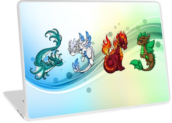 Four Elements - Dragons by Rebecca Golins