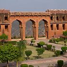 The Arches at Jaigarh Palace by Cole Stockman