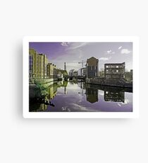 Urban reflections by Tim Constable Canvas Print