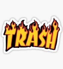 """Trash"" Sticker"