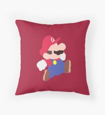 Mario Party (Mario) Throw Pillow