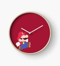 Mario Party (Mario) Clock