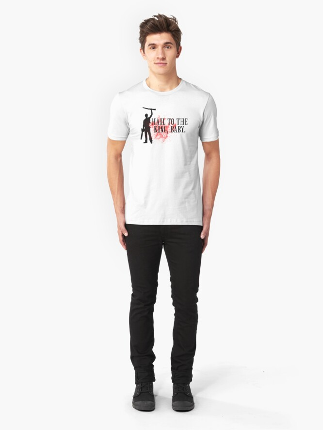 Alternate view of Hail to the king, baby.  Slim Fit T-Shirt