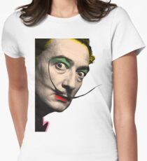 Salvador Dali Womens Fitted T-Shirt