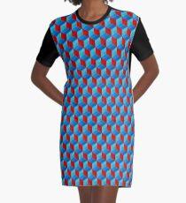 Cube Pattern I Graphic T-Shirt Dress