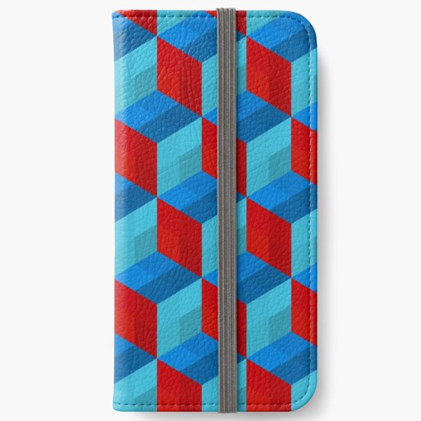 Cube Pattern I iPhone Wallet