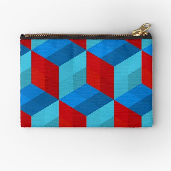Cube Pattern I Zipper Pouch