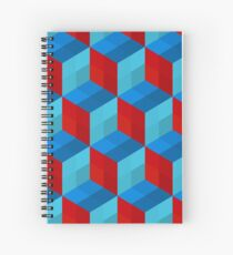 Cube Pattern I Spiral Notebook