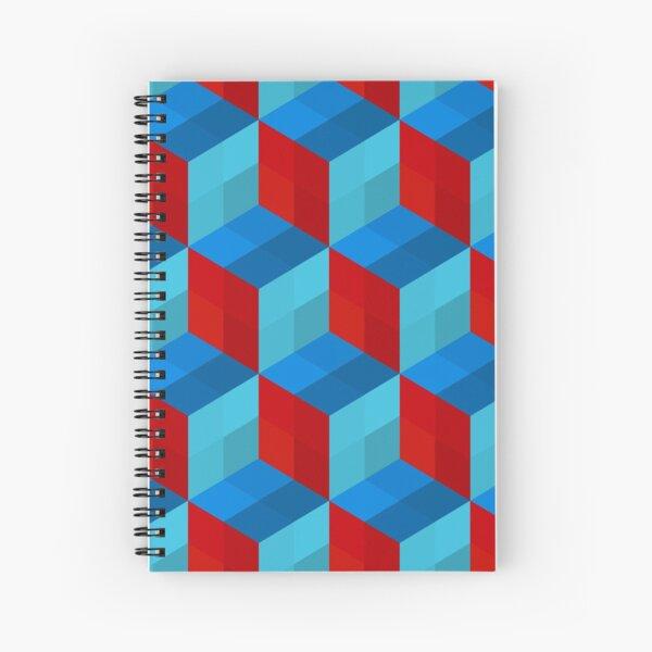 Cube Pattern I Spiral Notebook