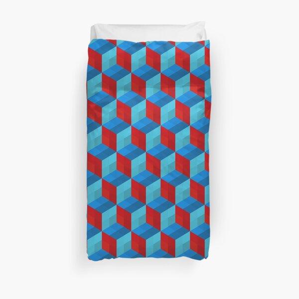 Cube Pattern I Duvet Cover
