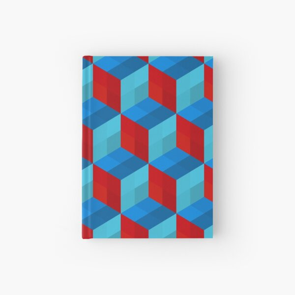 Cube Pattern I Hardcover Journal
