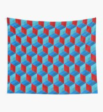 Cube Pattern I Wall Tapestry