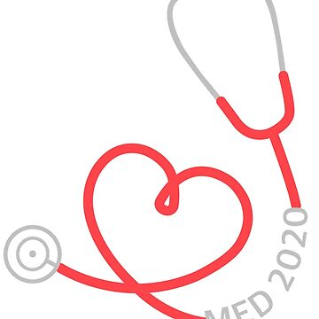 Med 2020 Stethoscope by ArtsyPortrait