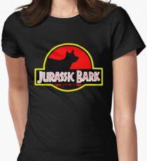 Jurassic Bark Womens Fitted T-Shirt