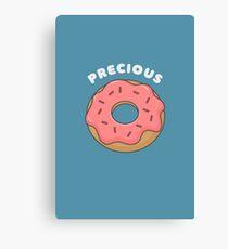 My Precious Ring Donut Pun T-Shirt Canvas Print