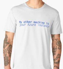 Other Machine: Azure Men's Premium T-Shirt