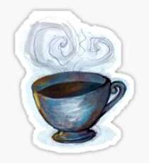 Chai Tea Drawing  Sticker