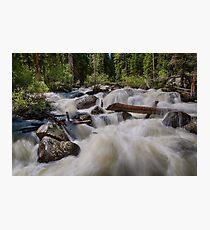 Cascading Stream Photographic Print