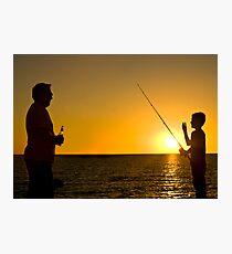 Like Father, Like Son Photographic Print