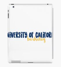 cal berkeley iPad Case/Skin