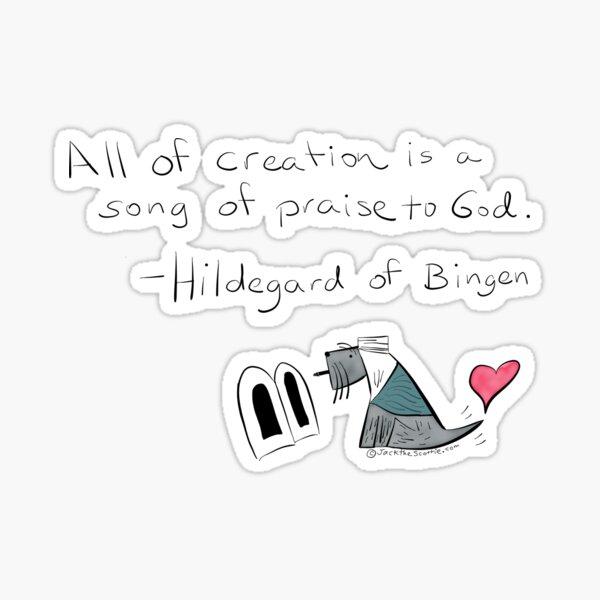 Jack - Hildegard - All Creation Sticker