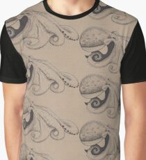 Octo Under the sea Graphic T-Shirt