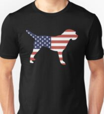 Border Terrier tshirt, patriotic Border Terrier Unisex T-Shirt