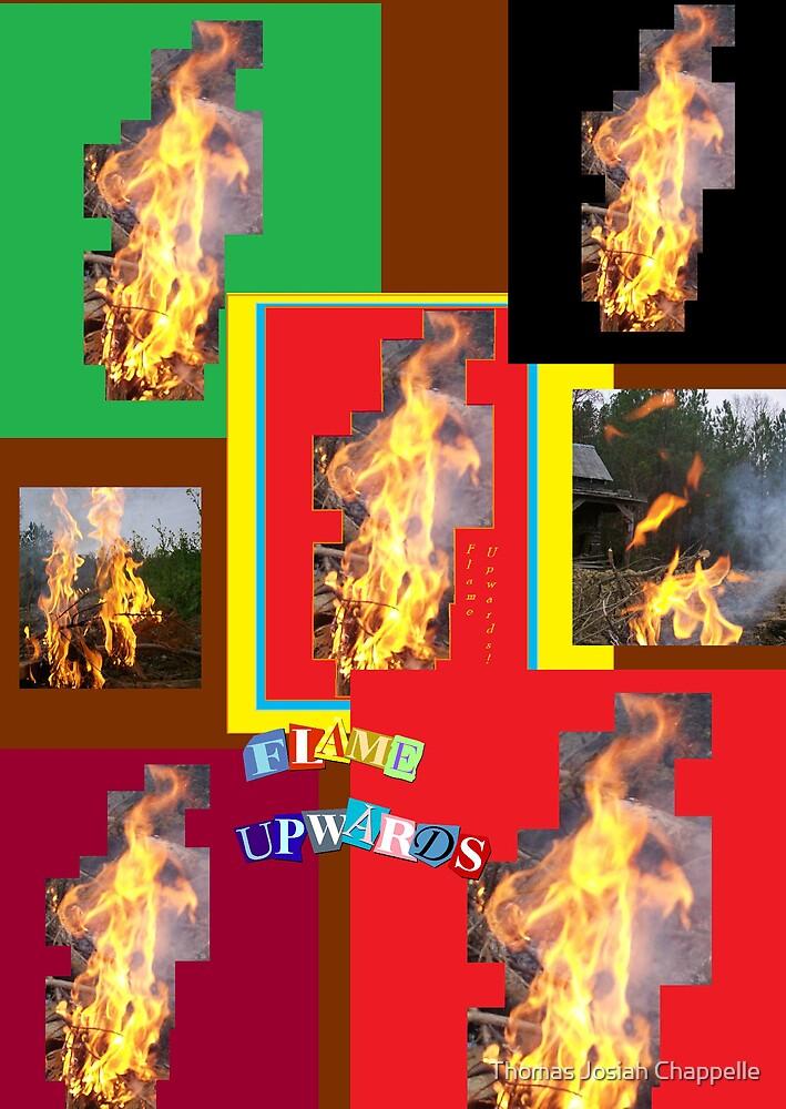 Flaming Upwards by Thomas Josiah Chappelle