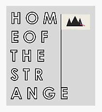 Home of the Strange (Young the Giant) Photographic Print