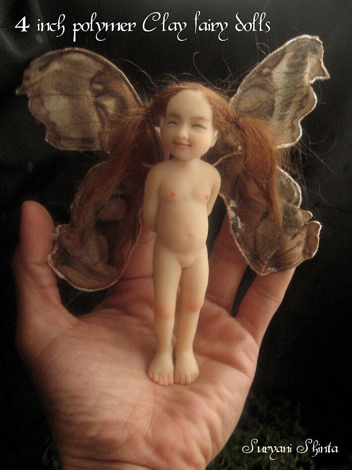 4 inch fairy doll by Suryani Shinta