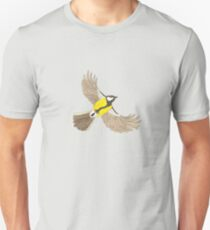 Sparrow in Flight Unisex T-Shirt