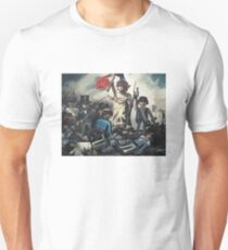 French Revolution Playmobil box Freedom Slim Fit T-Shirt