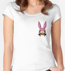Burger Louise Women's Fitted Scoop T-Shirt