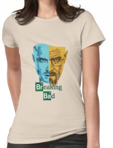 Breaking Bad -Jesse&Walter Womens Fitted T-Shirt