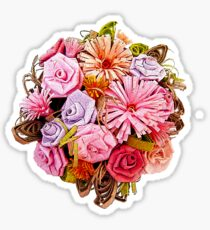 Paper Bouquet Sticker