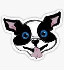 Boston Terrier Puppy Sticker