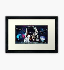 Space Wedding Framed Print