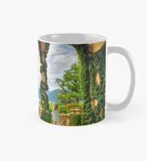 Lake View Through the Arches of a Villa Terrace Mug