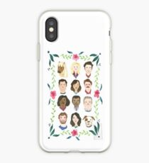 The Parks and Recreation Family iPhone Case