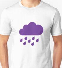 Purple Rain ~ Emoji Unisex T-Shirt