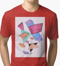 Art Doodle No. 1 Tri-blend T-Shirt