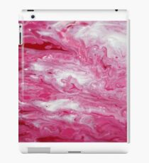 Pink flow iPad Case/Skin