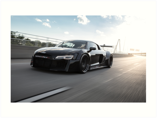 Custom widebody audi r8 art prints by mikekuhnracing redbubble custom widebody audi r8 by mikekuhnracing publicscrutiny Choice Image